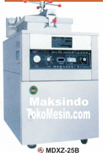 Mesin Deep Fryer Gas 10