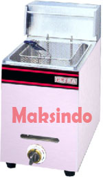 Mesin Deep Fryer Gas 5